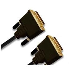 DVI-D, plug 24+1p / plug 24+1p - 5.0M 5m DVI-D DVI-D Nero cavo DVI
