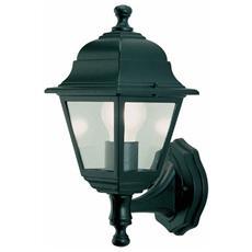 Lanterna Applique da Giardino Charme Mini Alta 60W Nero 20x33H cm