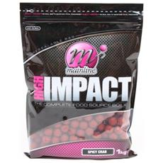 Boilies High Impact Spicy Crab 20 Mm Rosso Unica
