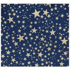 Carta Cielo Stellato Metallizzata 70x100 cm