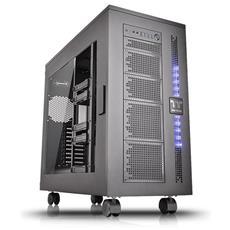 Case Core W100 SuperTower XL-ATX / E-ATX / ATX 4 Porte USB 3.0 Colore Nero (Finestrato)