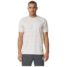 T-shirt Uomo Graphic Dna Bianco Grigio L