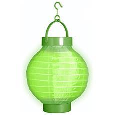 Lanterna Diametro 15 Cm Di Colore Verde Taglia Unica