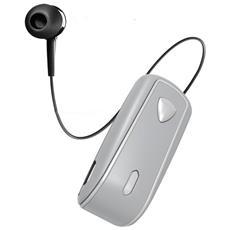 Auricolari BHSNAILSV Connessione Wireless per Mobile Colore Argento