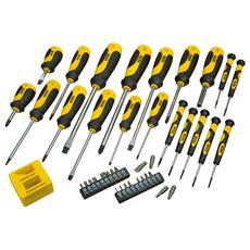 Set Completo Di Cacciaviti, Inserti, Magnetizzatore / Smagnetizzatore Professionali.