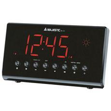Rs131 Radio Sveglia Digitale Led Meteo Doppio Allarme E Temperatura