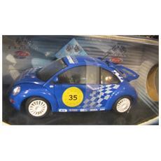 9033 New Beetle Racing 1999 1/18 Modellino