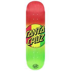 Tavola Da Skate Deck Rasta Dot 8'' Rosso Verde Taglia Unica