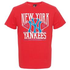 T-shirt Uomo Rouse Graphic Nyy Xs Rosso