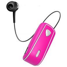Auricolari BHSNAILPK Connessione Wireless per Mobile Colore Rosa