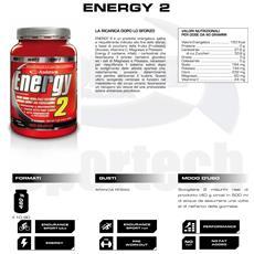 Energy-2 480g Energetico Salino Carboidrati+magnesio+potassio+vit.c