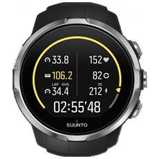 Spartan Sport Black Orologio Gps Multisport Elegante E Resistente Con Touch Screen Colori