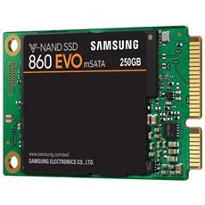 SAMSUNG - SSD 250 GB Serie 860 EVO mSATA Interfaccia Sata...