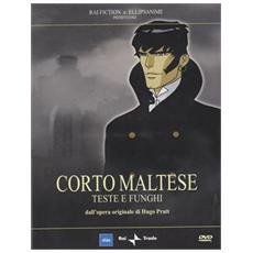 Dvd Corto Maltese #06 - Teste E Funghi