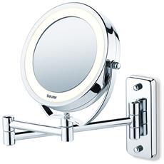 Specchio Cosmetico Illuminato 2 in 1