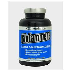 Glutammene 125g Glutamina Polvere L-glutammina Anticatabolica Recupero