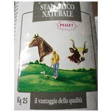 Stallatico Pellet - 4 Sacchi Da Kg 25 - Concime Naturale