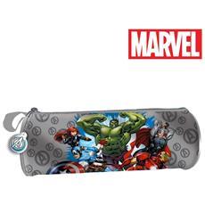 Astuccio Tombolino Portapastelli Avengers Marvel Originale 22 Cm Bambini Scuola