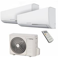 Condizionatore Fisso Dualsplit OS-C / SEMEH18EIB Nexya S4 Potenza 9000+9000 BTU / H Classe A+ / A Inverter e Wi-Fi