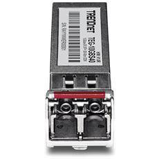 TEG-10GBS40, SFP+, LC, IEEE 802.3ae, 0 - 70 °C, CE, FCC, 0 - 95%