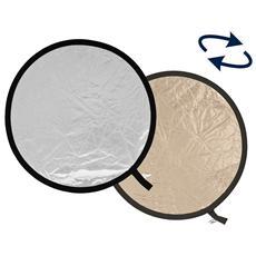 Pannello circolare Sunlite / Argento Soft Ø 50 cm