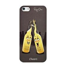 Cover 0,5mm cheers + screen prot. iphone se