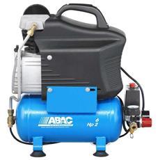Compressore Monostadio Lubrificato Start L20 2hp Serbatoio 6 L