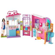 MATTEL - Barbie Studio Veterinario Tv