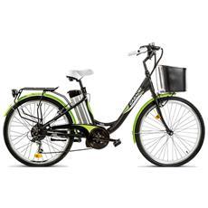 ce14f7b0f4b49 CICLI CASADEI - City Bike Elettrica Cicli Casadei Firenze 26 Alluminio 6v -  Batteria Litilo 36v-13ah