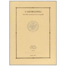 I Georgofili. Atti della Accademia dei Georgofili. Vol. 8/2