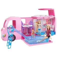 MATTEL - Barbie Camper Tv