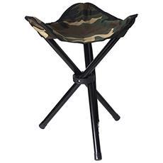 klappbarer Stuhl 3 Beine