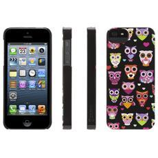 Griffin - Custodia Wise eyes per iPhone 5/5s - Nero e rosa