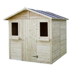 Casetta in legno ricovero porta attrezzi 208x229x223