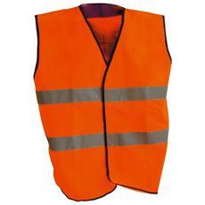 Gilet ad Alta Visibilita Standard colore Arancio tg. XL