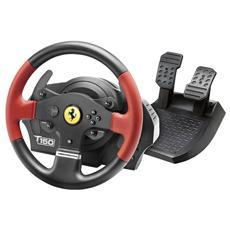 THRUSTMASTER - Volante T150 Wheel FFB Ferrari Edition per PS4 / PS3 e PC