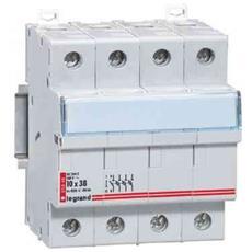 005848 - Portafusibili Modulari Fus. cil. 3p+n 10x38 500v