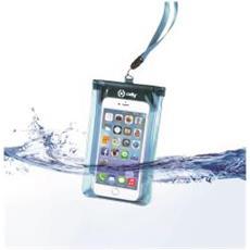 SplashBag Custodia waterproof per Smartphone da 5.7 colore Blu