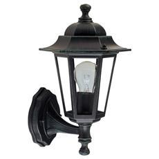 Lanterna da parete in alluminio pressofuso Lampada da esterno E27 21x34 H