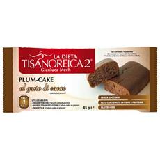 tisanoreica 2 plum cake - gusto cacao - 45 g