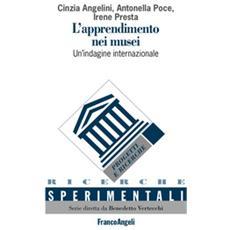 L'apprendimento nei musei. Un'indagine internazionale. Ediz. italiana e inglese