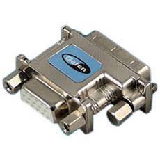 ADA-DVI-2-VGA, DVI, VGA, Maschio / femmina, Metallico