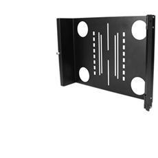 """Staffa di montaggio universale per monitor LCD VESA orientabile per rack 19"""" o armadi"""