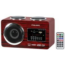 Radiolett. AH173 Legno Usb / Sd / Aux Mp3