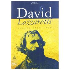 David Lazzaretti. Scritti 1868-1870
