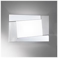 Illuminazione A. 1646-N - Lampada Parete Con Vetro RICONDIZIONATO