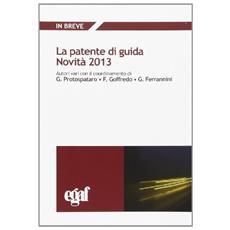 Patente di guida 2013