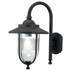 Lampada da giardino lanterna esterno in alluminio attacco E27 27x34 H