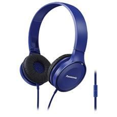 Cuffie con Microfono Cablato RP-HF100ME-A Colore Blu
