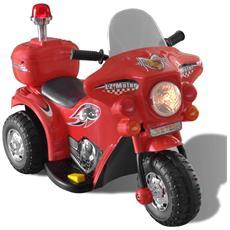 Motocicletta Per Bambini A Batteria (rosso)